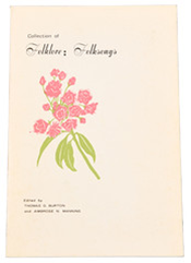 The East Tennessee State University Collection of Folklore: Folksongs book cover