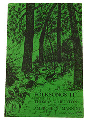 The East Tennessee State University Collection of Folklore: Folksongs II book cover
